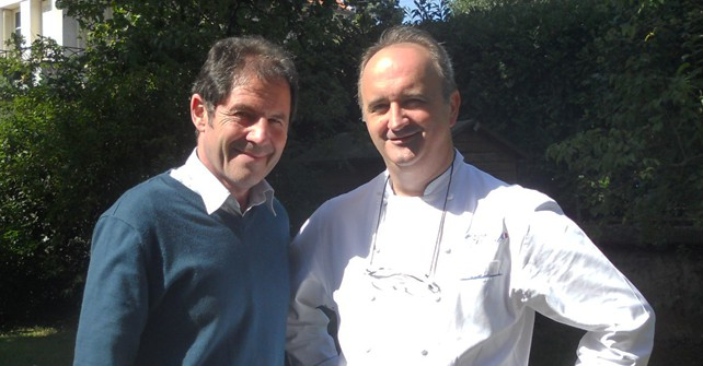 Gabriel Gaté, famous Chef in Australia visited Jean-Marc Villard