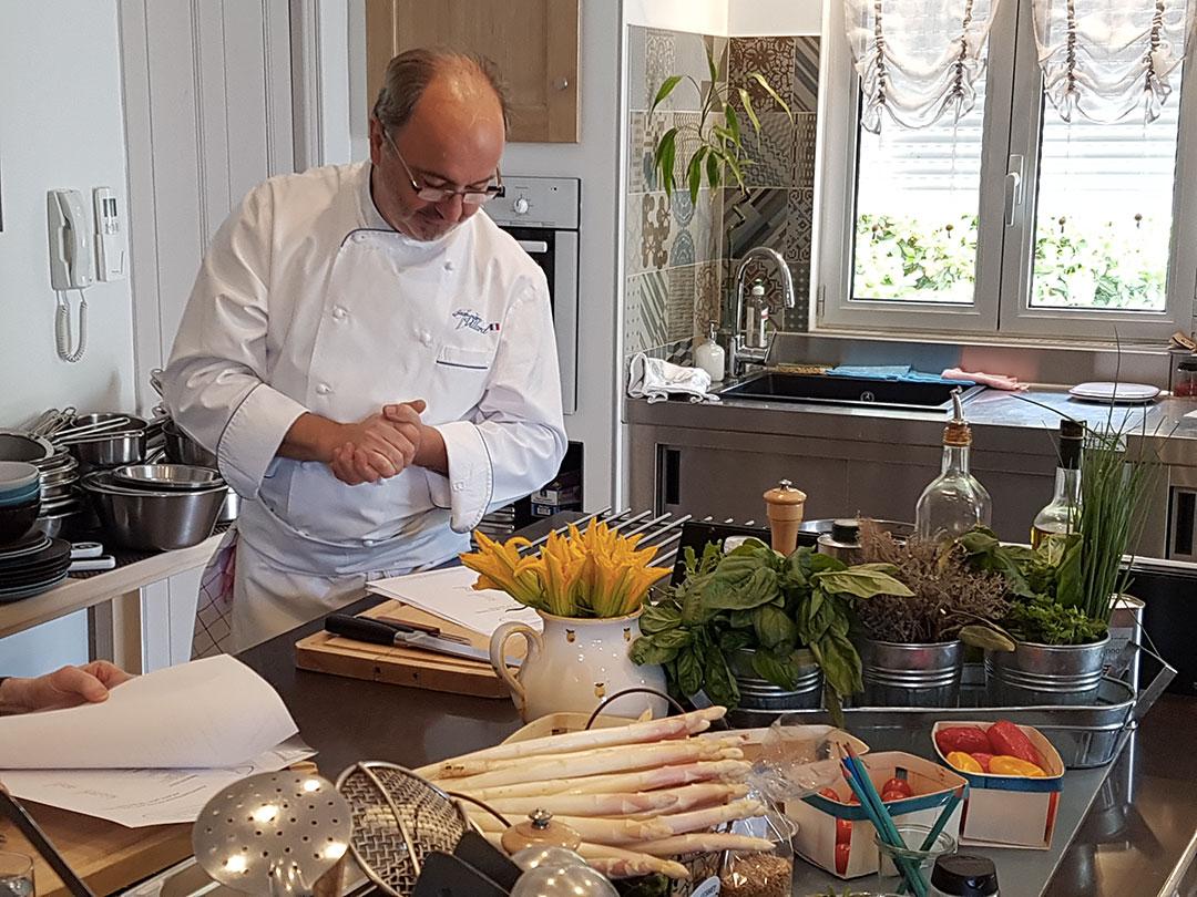cookery class provence chef jean-marc villard